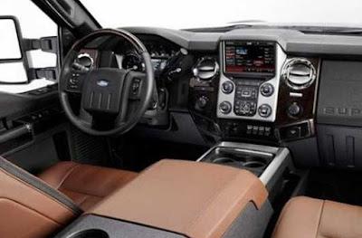2017 Ford Super Chief interior