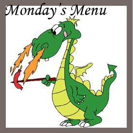 Mondays Menu