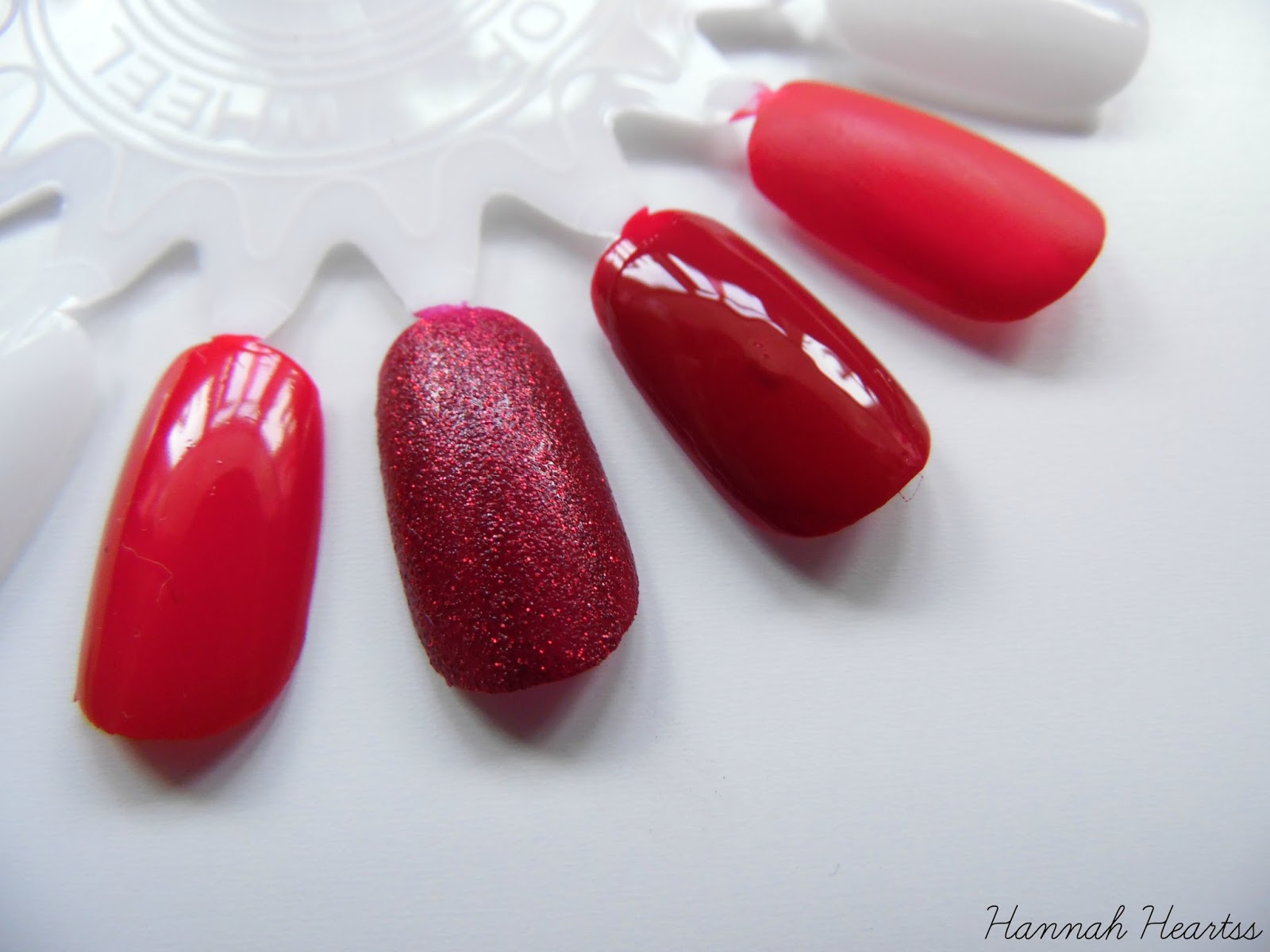 Red Nail Polish Swatches