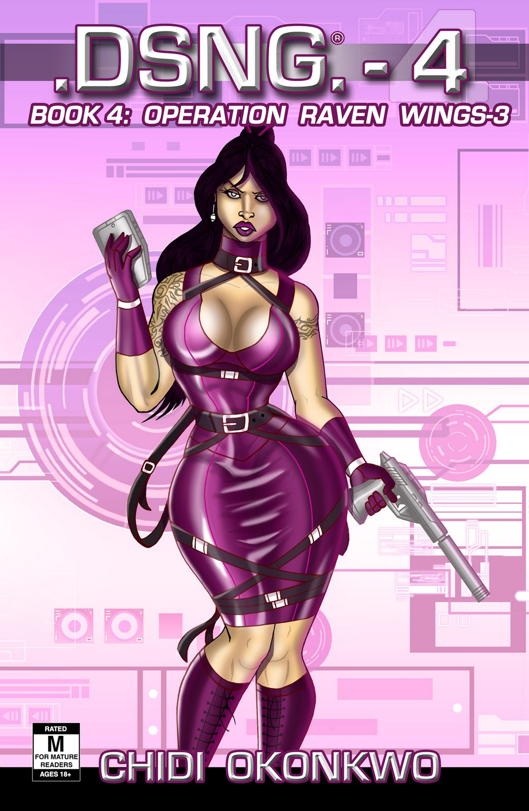http://4.bp.blogspot.com/-8kAklPk3vUQ/Tppi2cHqzbI/AAAAAAAABjA/6mqrQrCzM8Y/s1600/DSNG+C4R5+EXTRA+BOOK+4+COVER+Chronicles+book+4+cover+sexy+busty+boobs+hips+glamor+pinup+handgun+silencer+PCD+yatalia+yentoshima.jpg