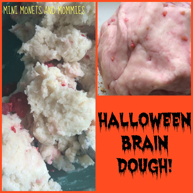 Halloween dough