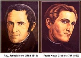 Joseph Mohr and Franz Gruber