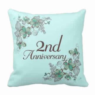 Cadeau anniversaire de mariage 2 ans