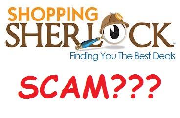 shopping sherlock scam or not