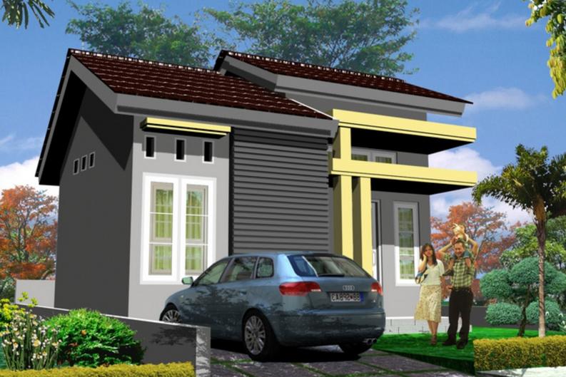 Contoh Desain Rumah Minimalis Type 21 Elegan Terbaru 2015_4