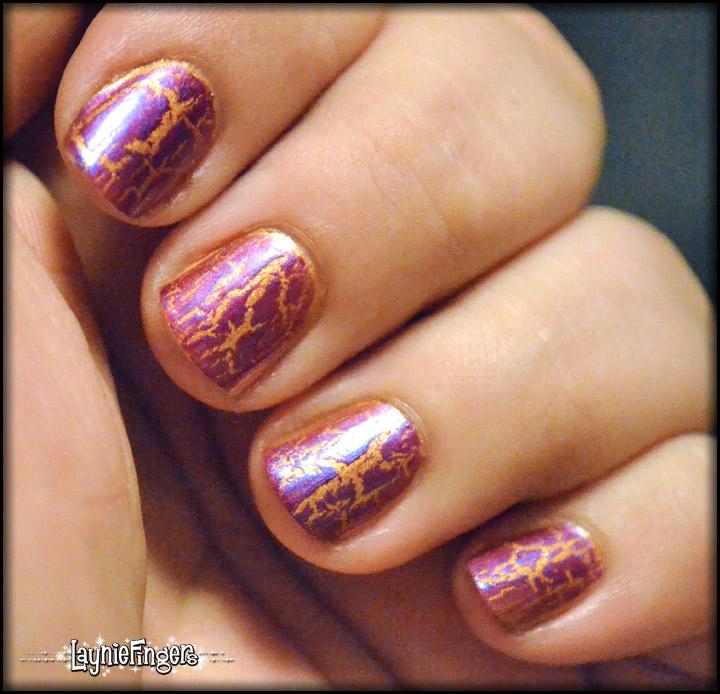 Layniefingers: Simple Fun Nail Art: LSU Nails!