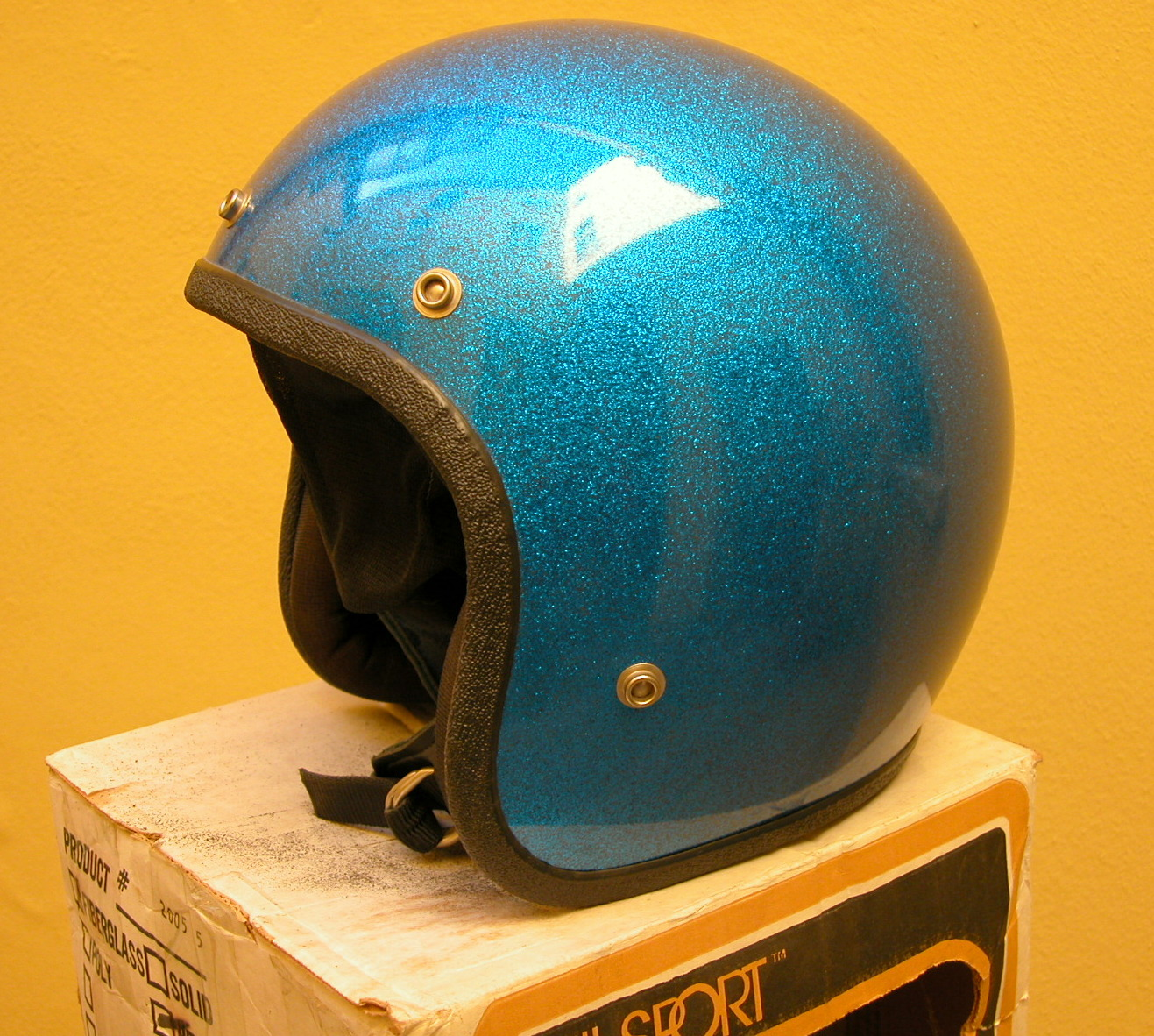 for sale vintage Buco/AllSport metalflake helmet