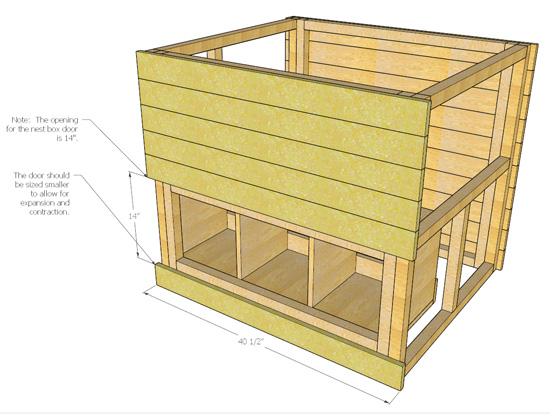 Coop guide chapter what size chicken coop for 6 chickens for Chicken coop size for 6 chickens