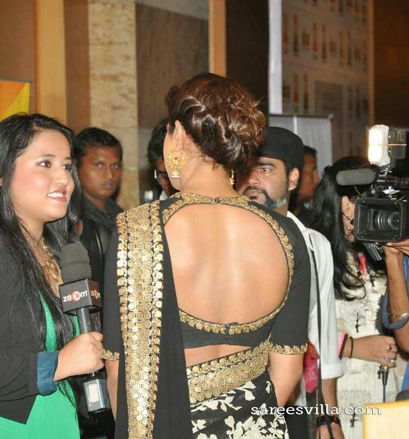 Priyanka Chopra Braided Bun Hairstyle