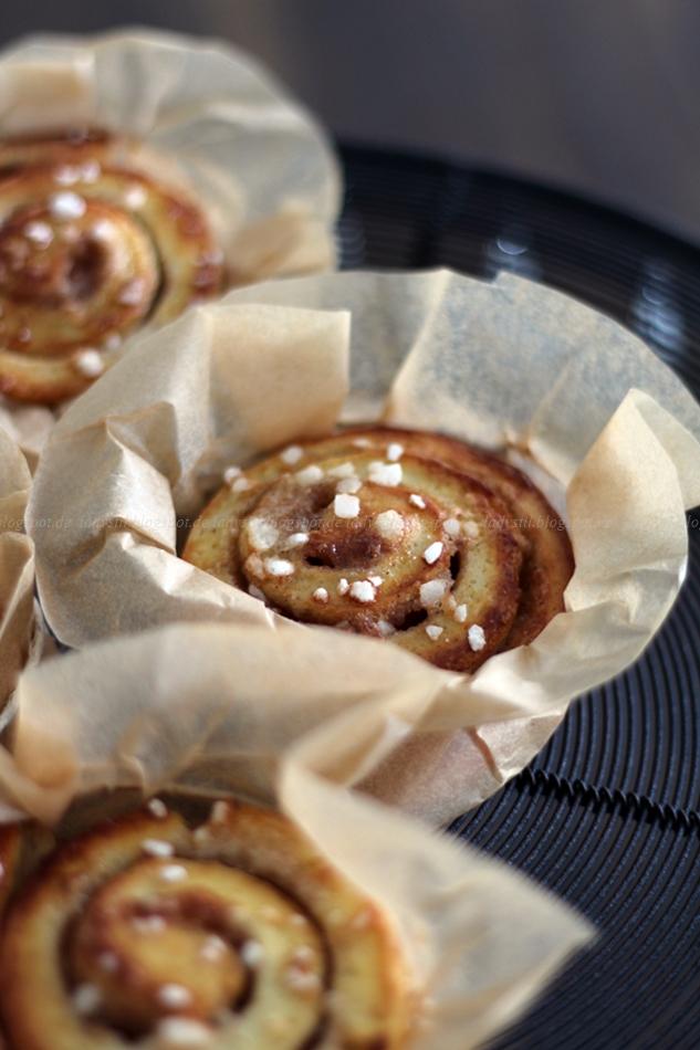 Anblick ZImtschnecken Originalrezept für Zimtschnecken aus Schweden, Kanelbullar, Haga-Bullar, Göteborg, Rezept Zimtschnecken,Nationalgebäck Schwedens,