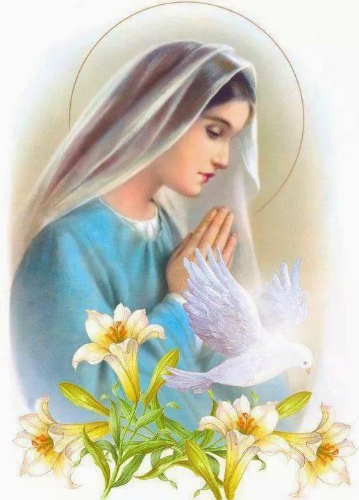 Mon hommage personnel à la Bienheureuse et Sainte Vierge Marie... - Page 3 Marie%2Bprie