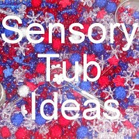 http://ourworldwideclassroom.blogspot.com/search/label/Sensory%20Tubs%20Idea%20List