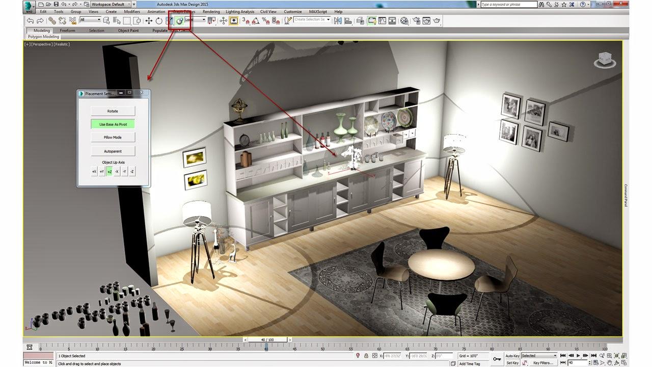 Autodesk 3DS Max Design 2015 x64 + Update SP3 Full Keygen screenshot