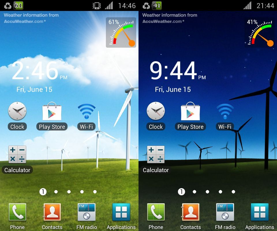 InSaNeT z  Live Wallpaper   Android powerful Feature