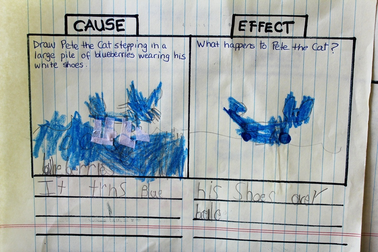 Cause and Effect with Pete the Cat | Creative Learning