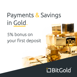 Save with BitGold