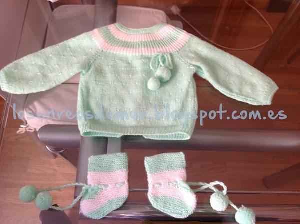 Jersey de punto para bebé