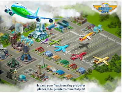 Airport City V4.0.34 MOD Apk + Data 2