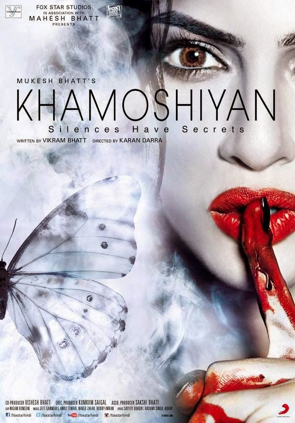 The first poster for Khamoshiyan