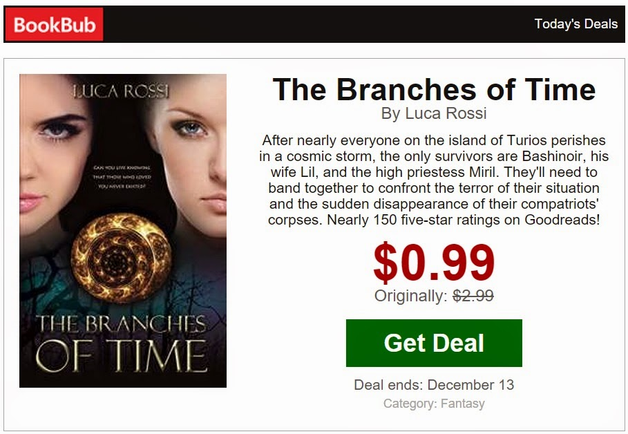 The Branches of Time on Bookbub