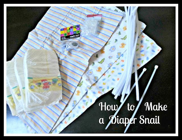 Diaper Snail Tutorial