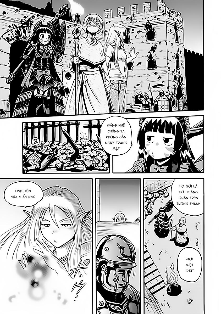 Gate – Jietai Kare no Chi nite, Kaku Tatakeri chap 14 Trang 2 - Mangak.info