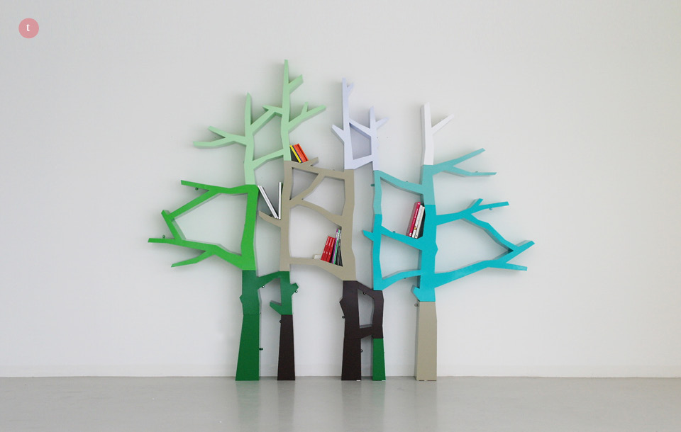 Mooce: STYLE: Tree Bookcase