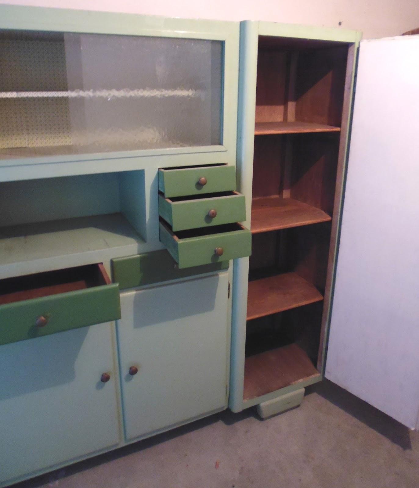 Rimodern credenza da cucina vintage anni 39 50 39 60 - Cucina stile anni 50 ...