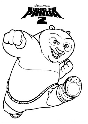 Click On A Account Beneath To Accomplish It Larger Again Book Out And Get Pleasure Your Kung Fu Panda Coloring Pictures