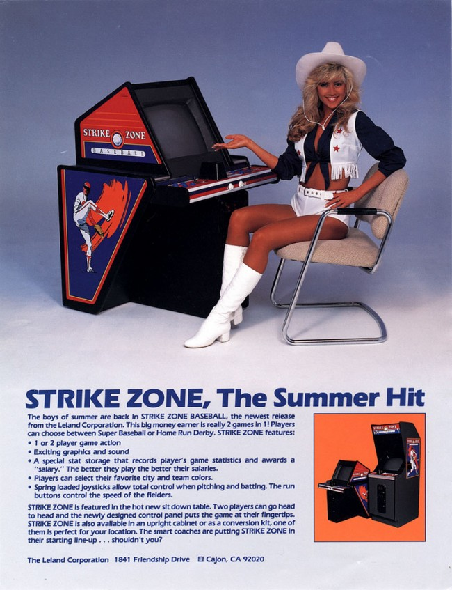 21 Sexy Arcade Game Ads From the 1970s and 1980s