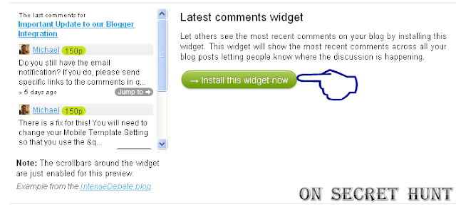Latest+comments+widget How To Add IntenseDebate Recent Comments Widget In Your Blogger Blog