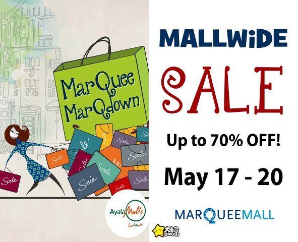 Marquee Mallwide Sale 2012 Philippine Promos Deals Discounts Freebies Coupons Sales