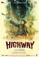Alia Bhat's 'Highway' Movie Stills