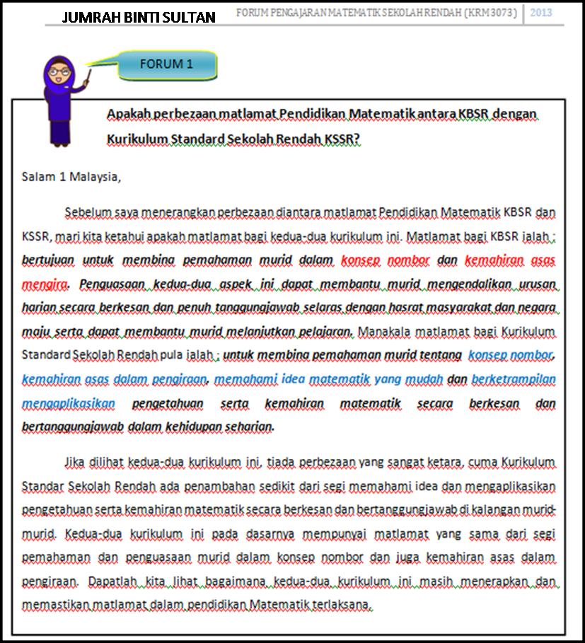 KURIKULUM STANDARD SEKOLAH RENDAH Matematik / Pend. Jasmani