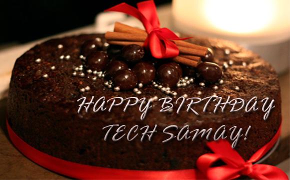 Happy birthday Tech Samay