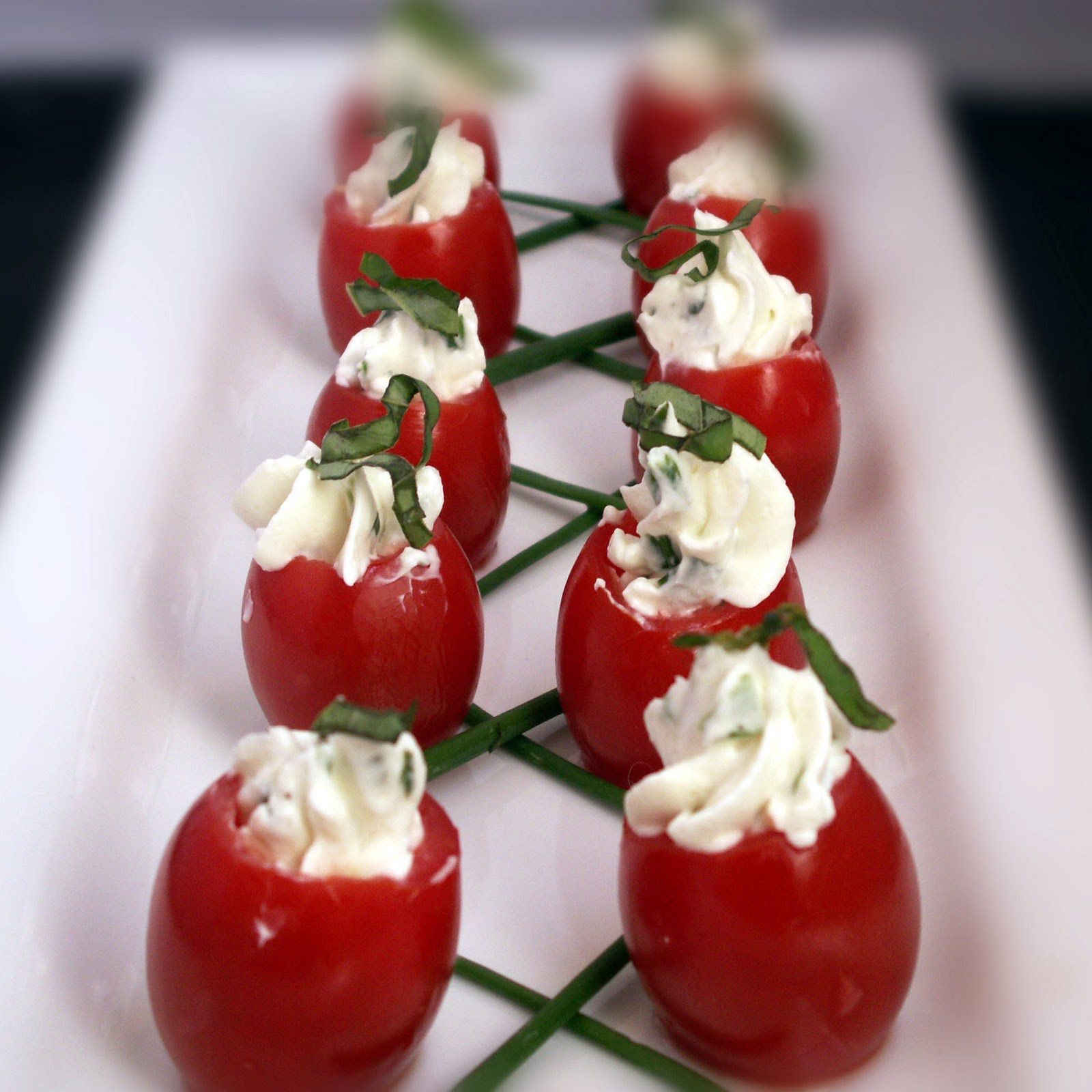 Gourmet Cooking For Two: Stuffed Cherry Tomatoes
