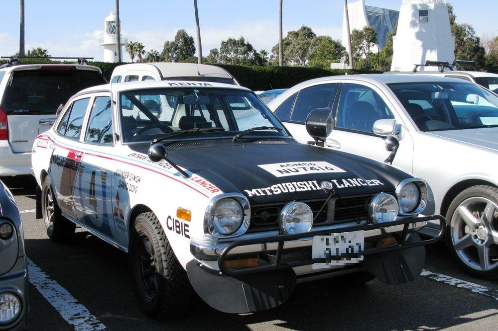 Mitsubishi Lancer I 三菱, 日本車, スポーツカー