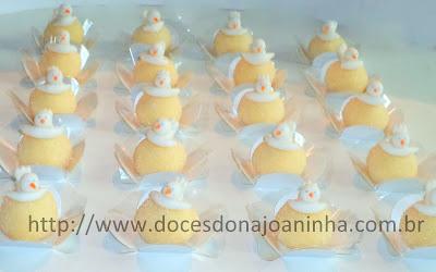 doces  decorados batizado