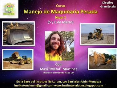 CURSO DE MANEJO DE MAQUINARIA PESADA NIVEL I