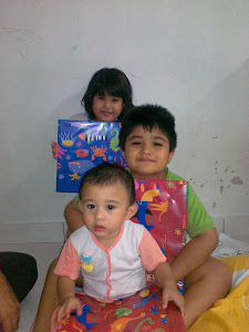 My Children with Their Presents a.k.a Books