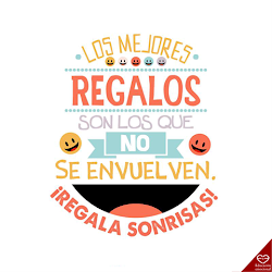 Regala sonrisas