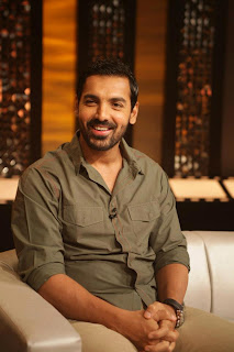 John Abraham on The Front Row show