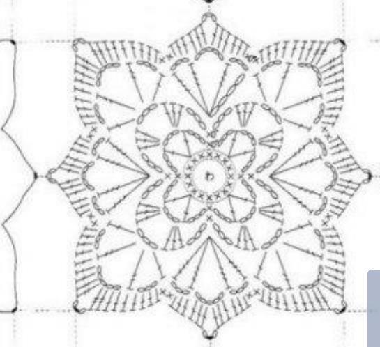 Etichette granny square pattern how to crochet for Piastrelle uncinetto filet schemi