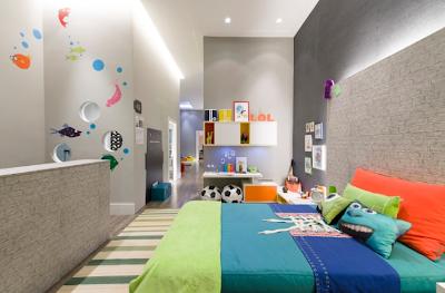 Dormitorio Nino inspirado en Monsters University