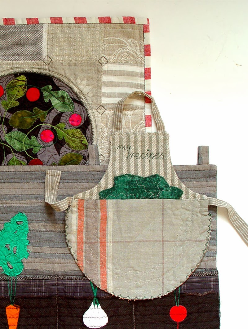 textile garden decorations by bozena wojtaszek