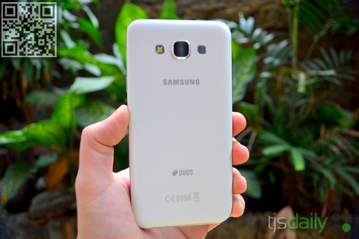 Samsung Galaxy E7 Review Back