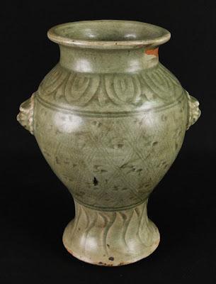 Ming Celadon vase