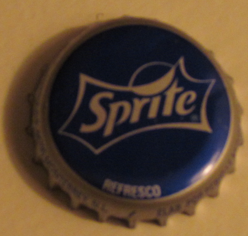 Sprite bottle cap