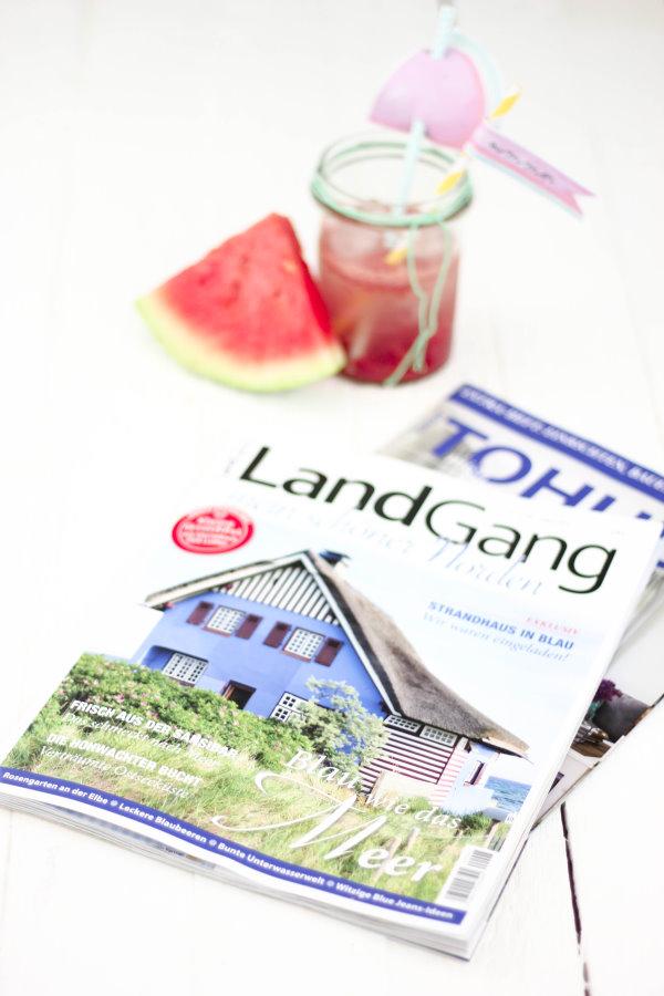 titatoni im Magazin LandGang