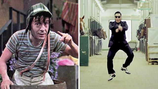 """¿Chespirito inventou o """"Gangnam Style""""?"""